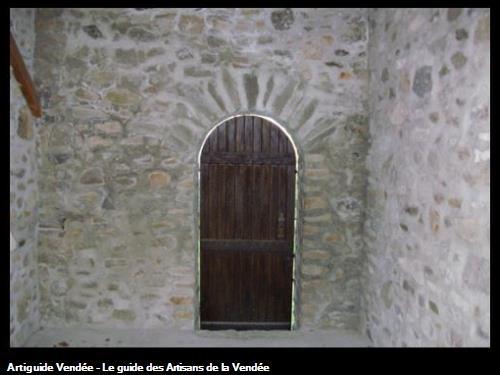 Jointoiement pierres et élévation mur en pierres - Le Vieil